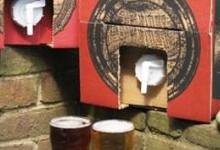 Картонная коробка для пива